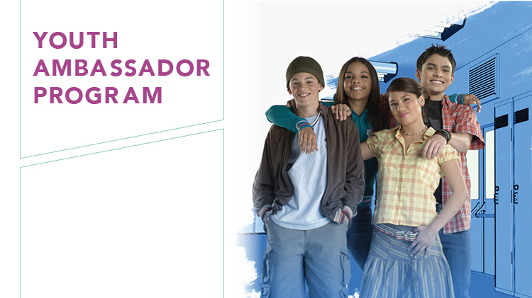 Join Our 2018 Youth Ambassador Program