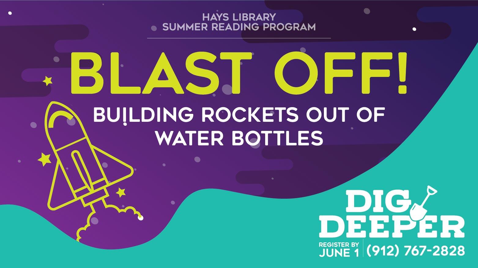 Blast Off! Water Rocket - Summer Reading Activity