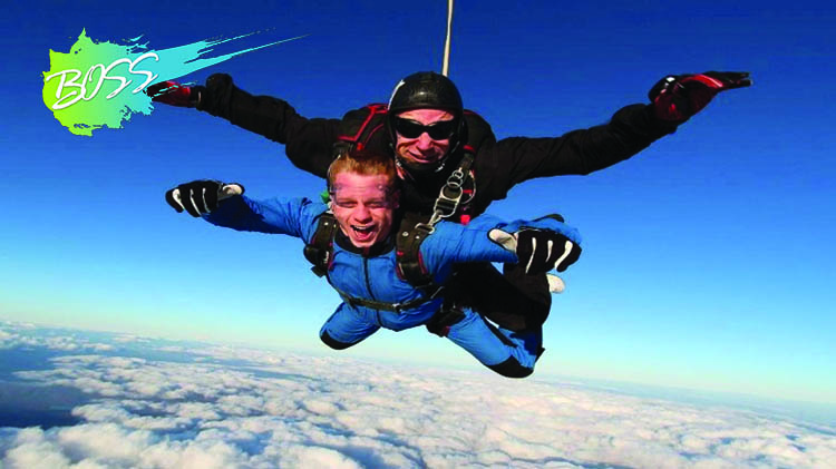 BOSS: Road Trippin' Skydiving