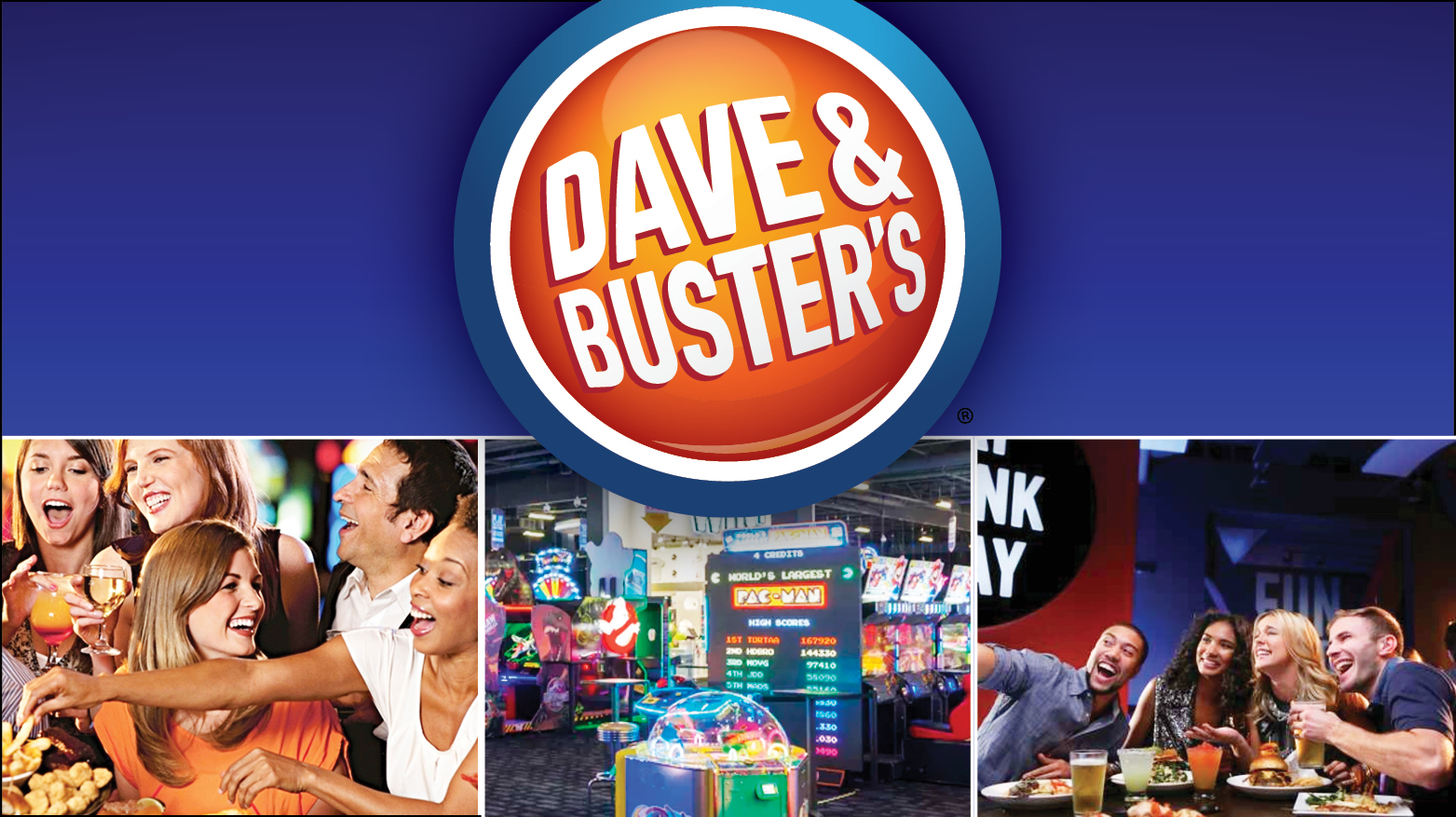 Dave and Busters Trip: Jacksonville
