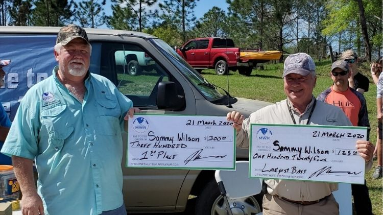 Congratulations to our March 21st Marne Bass Tournament Winners