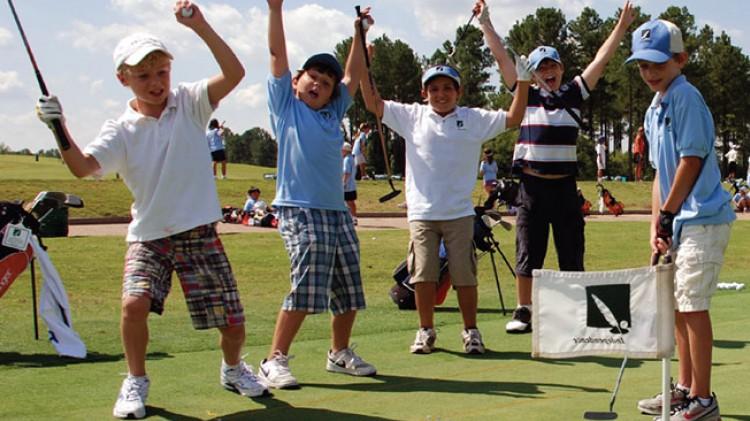 Monthly Kids Golf Clinics