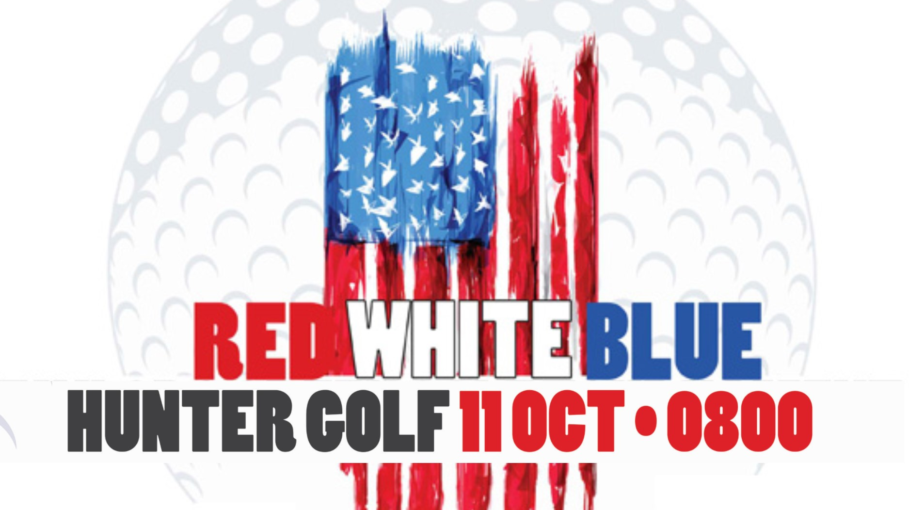 Red, White, Blue Golf Scramble