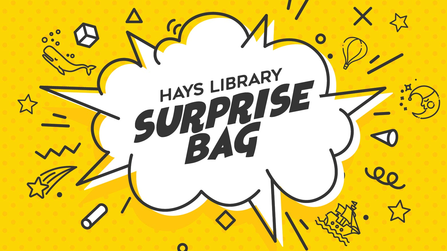 Hays Library Surprise Bags