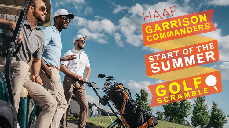 HAAF Garrison Commanders Start of the Summer Golf Scramble