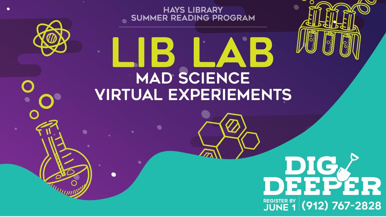 The Lib Lab - Summer Reading Activity
