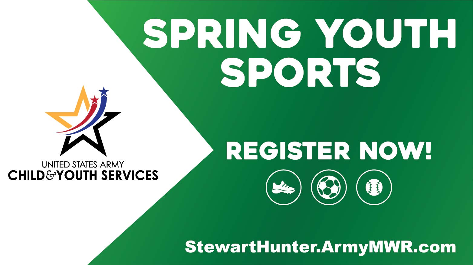Spring Youth Sports Registration