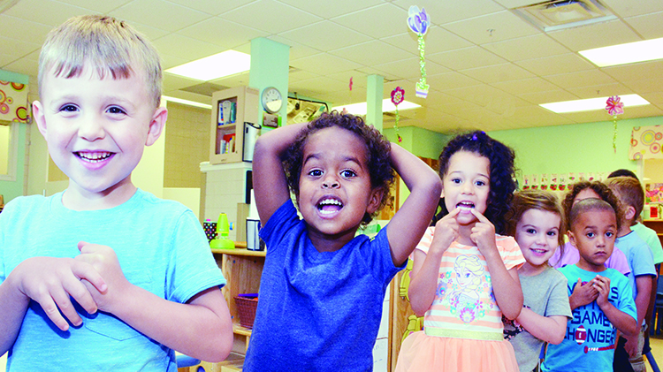 Pre K Spaces Available at Hunter