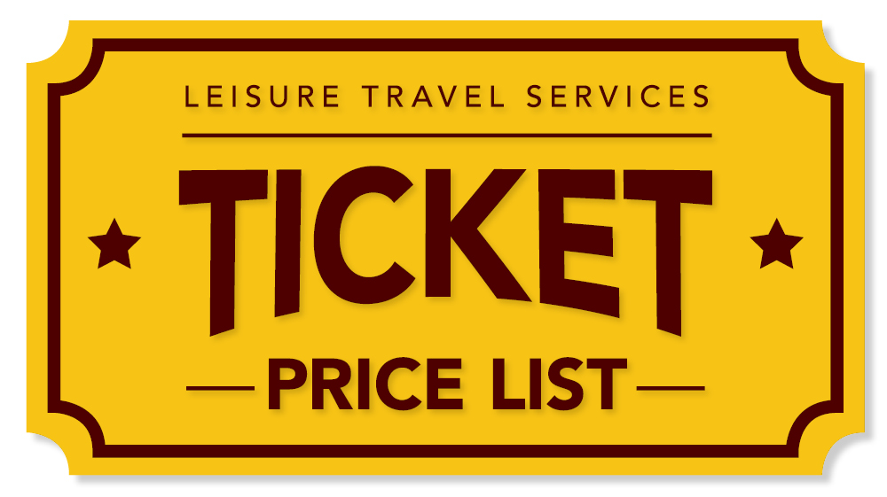 LTS Ticket Price List