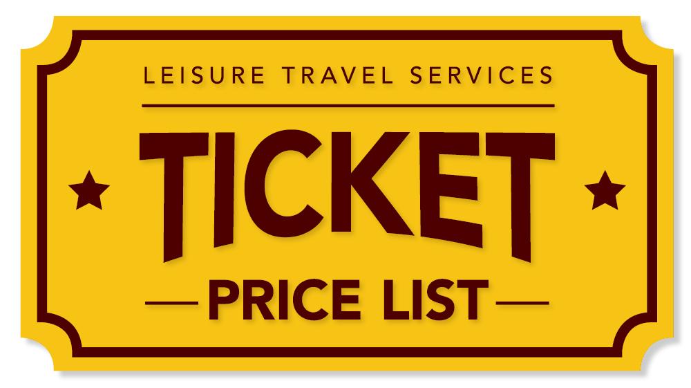 LTS Ticket Price List