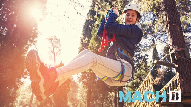 "MACH-1 Youth Adventure Quest Trip ""ZipLine, Hilton Head SC"""