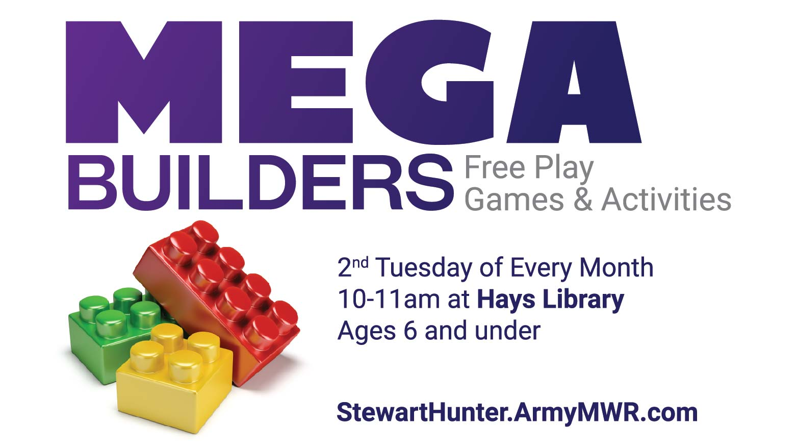 Mega Builders Club- CANCELLED