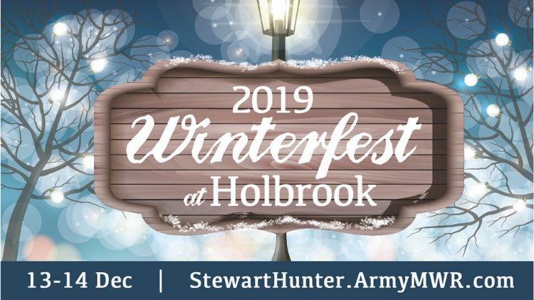Winterfest at Holbrook Pond