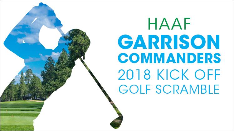 Garrison Commanders 2018 Kick Off Golf Scramble