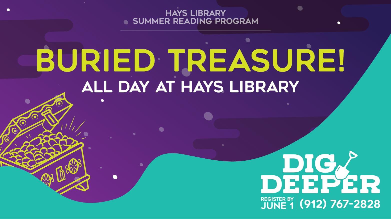 Buried Treasure - Summer Reading Activity