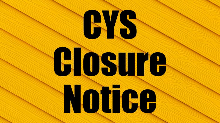 Child & Youth Services Closed Today