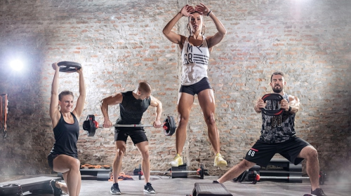 High-Intensity Interval Training Classes (FS)
