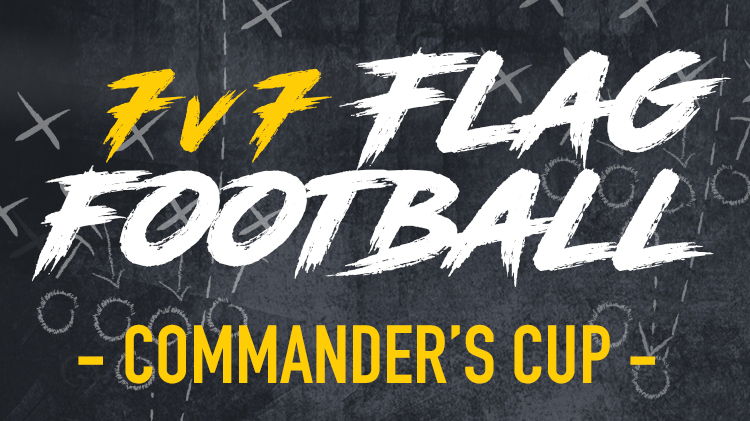 Commander's Cup Flag Football League Registration