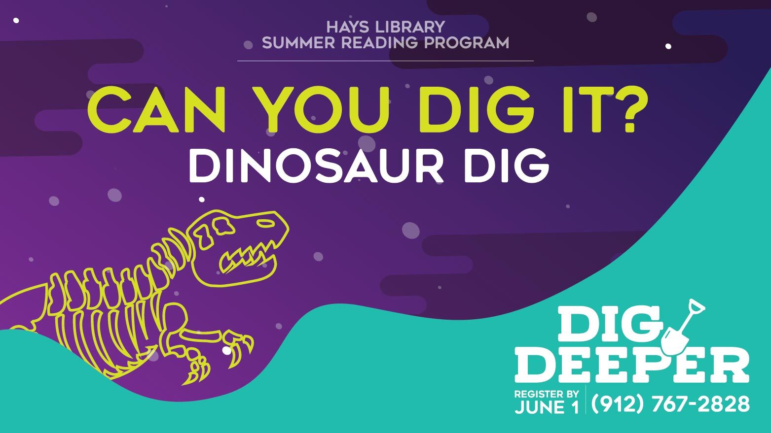 Can You Dig It - Summer Reading Activity