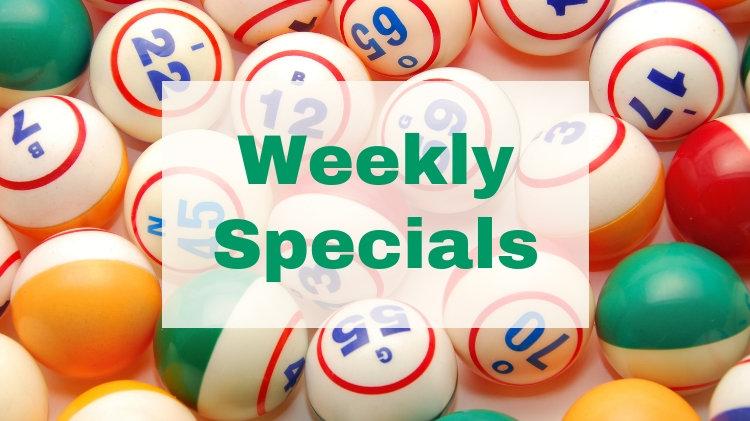 Bingo Weekly Specials