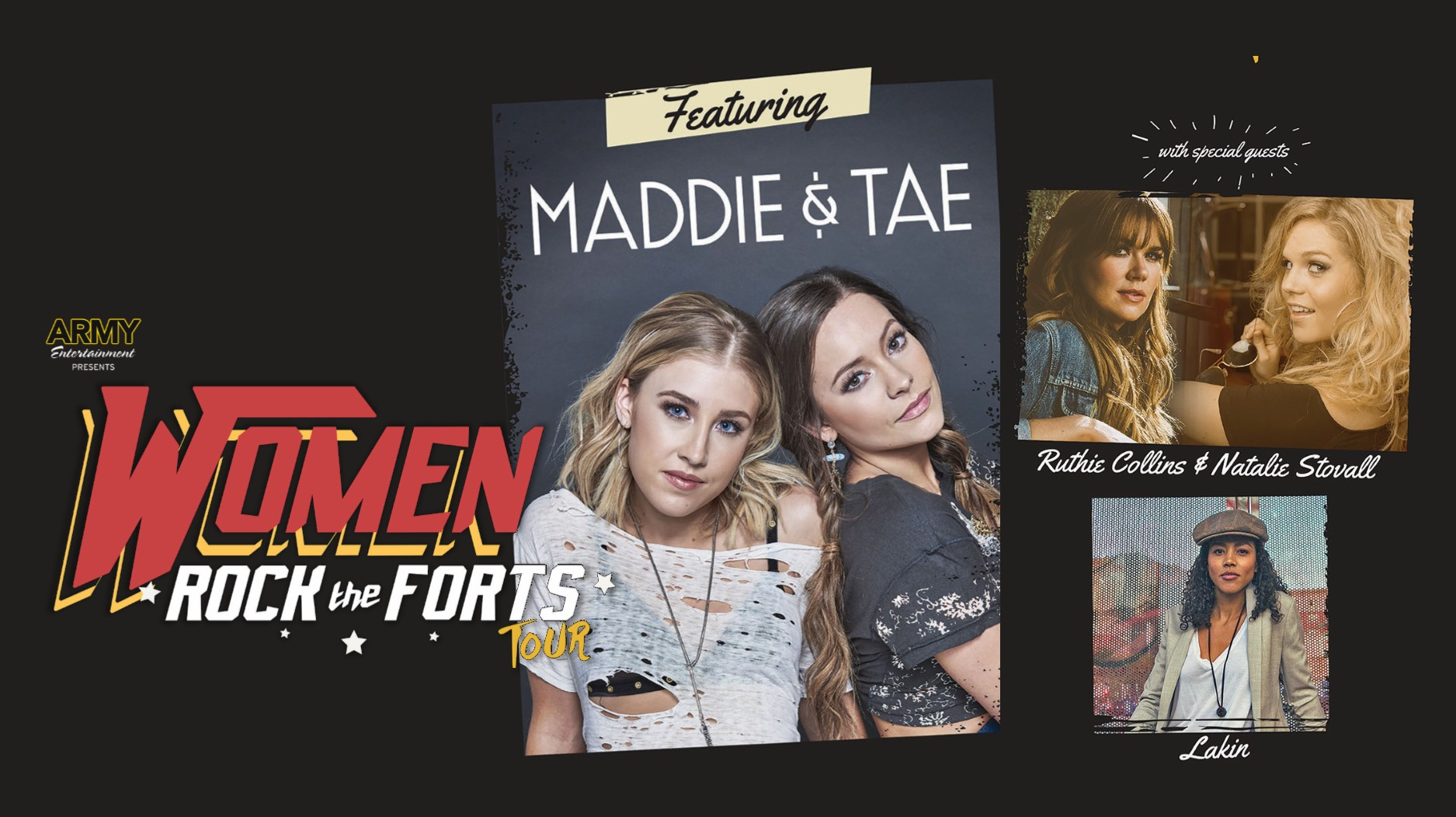 Women Rock the Forts Tour / An Evening with Maddie & Tae