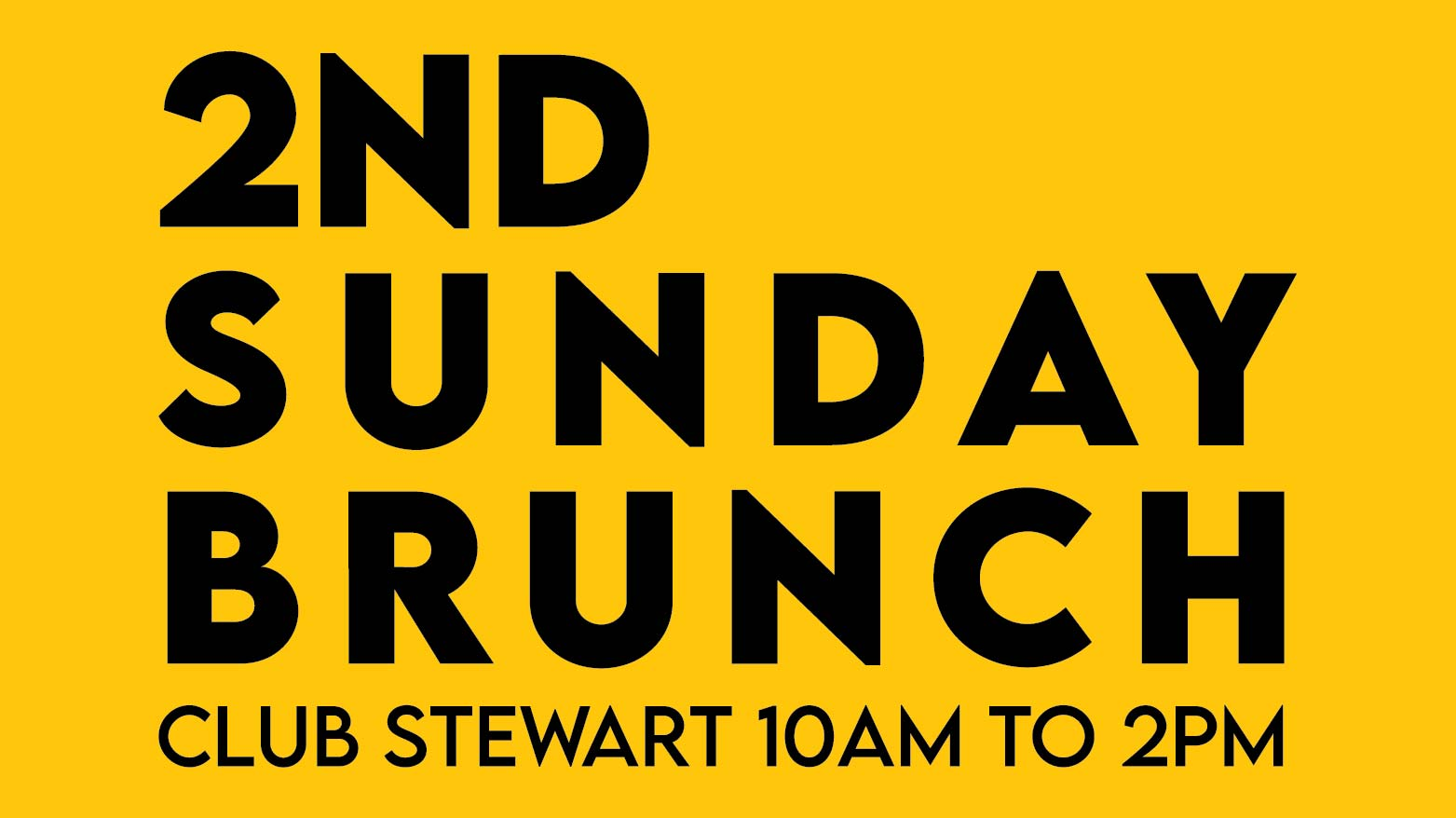 2nd Sunday Brunch