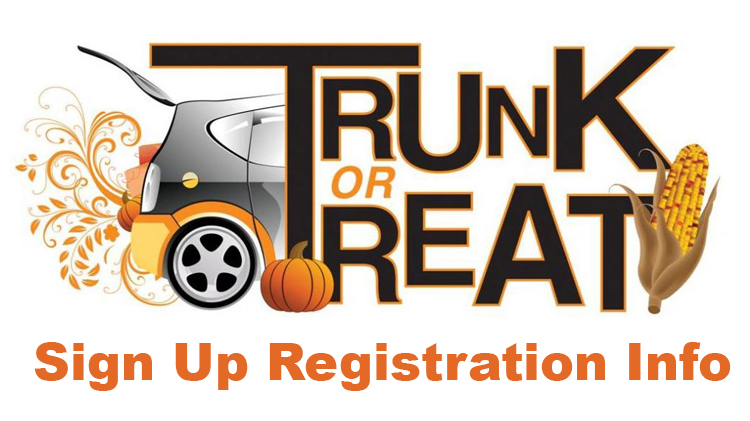 Trunk or Treat Registration