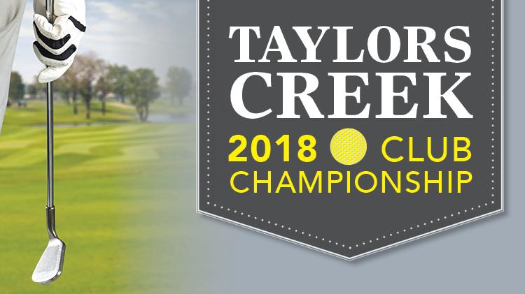 2018 Taylors Creek Club Championship