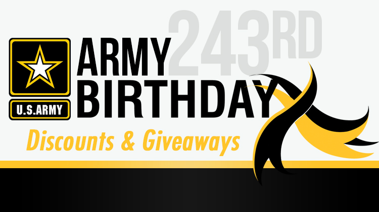 Army Birthday Specials!