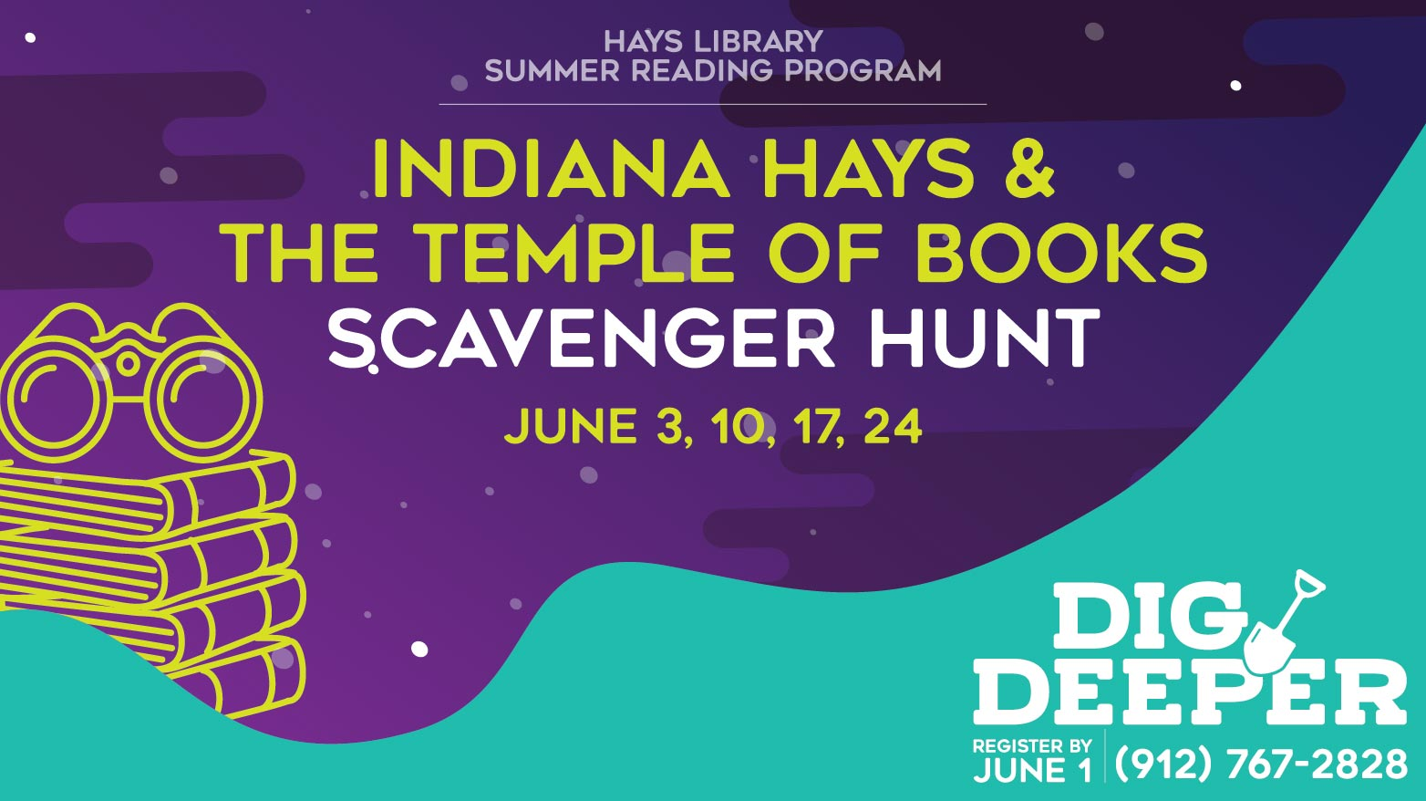 Indiana Hays & the Temple of Books Scavenger Hunt