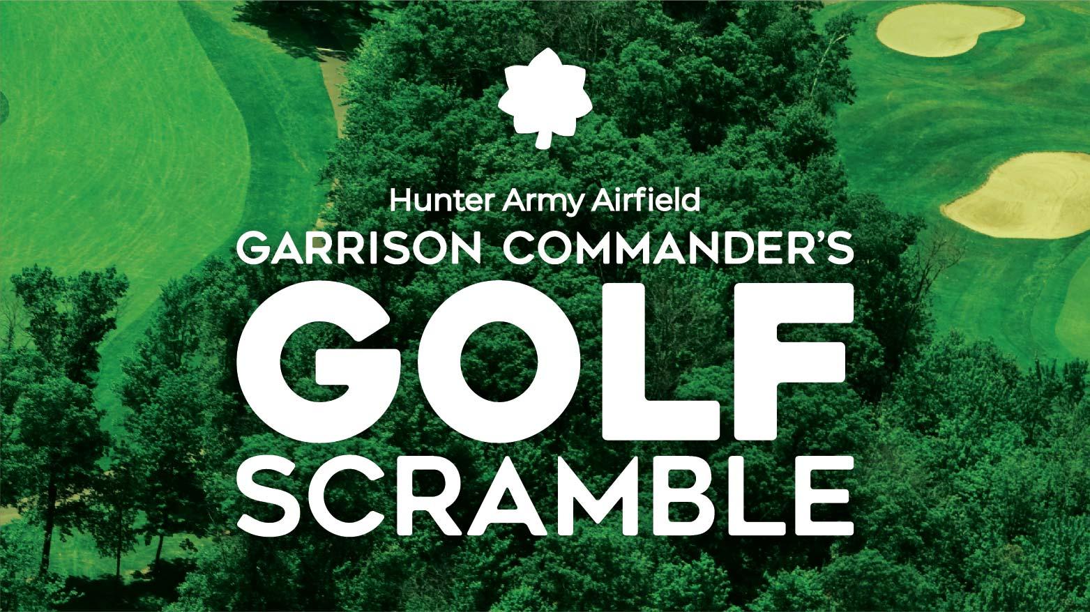 GC Commander's Golf Scramble