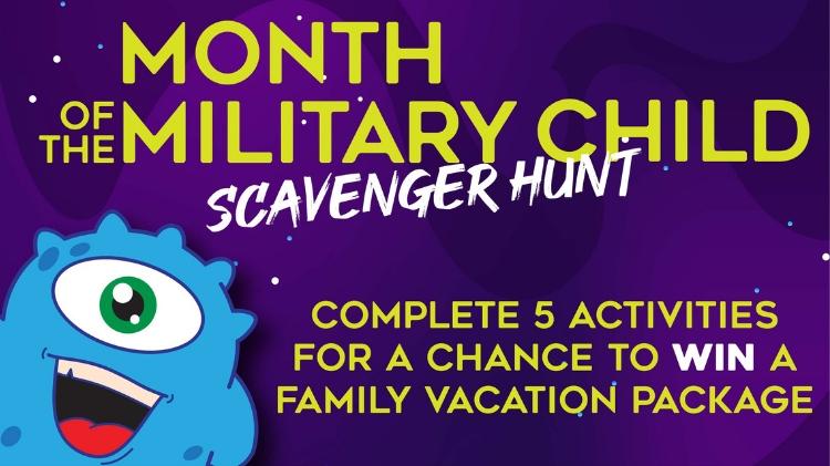 Month of the Military Child Scavenger Hunt- POSTPONED
