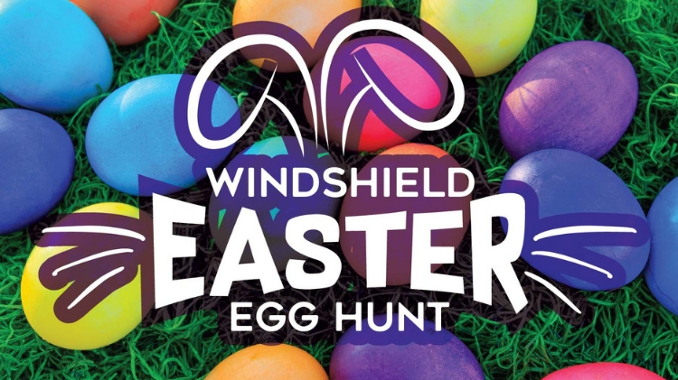Windshield Easter Egg Hunt