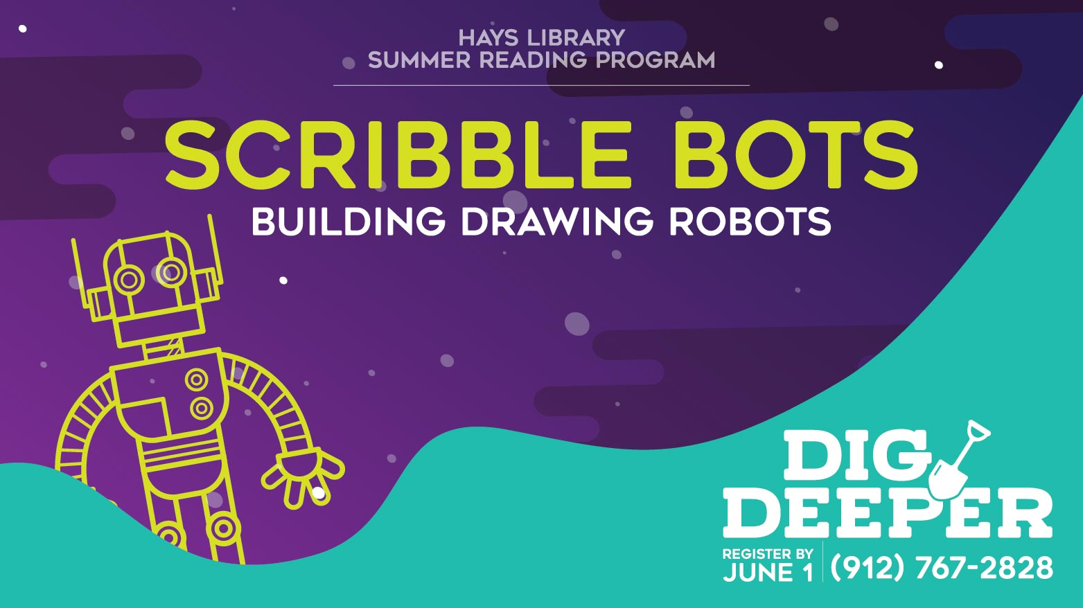 Scribble Bots - Summer Reading Activity