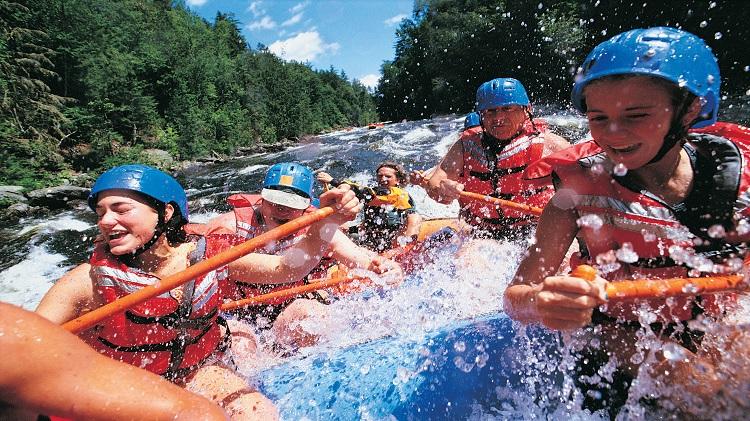 2017 River Adventures White Water Rafting Trip