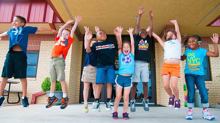 Summer Break at the School Age Center